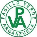 Escudo del CDE Pasillo Verde Arganzuela. Equipo de fútbol base, fútbol senior y fútbol femenino de Madrid